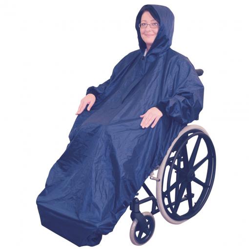 Дъждобран за инвалидна количка с ръкави